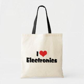 Amo electrónica bolsa tela barata