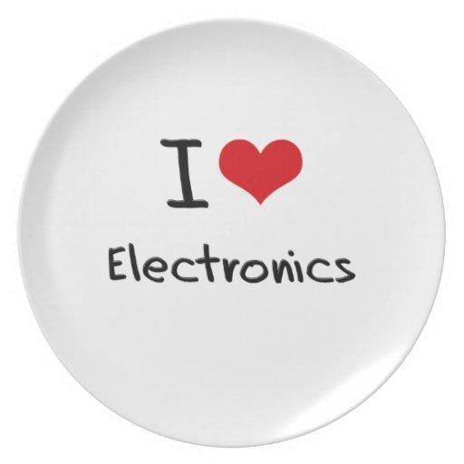 Amo electrónica plato
