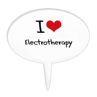 Amo electroterapia figura para tarta