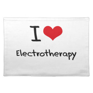 Amo electroterapia manteles individuales