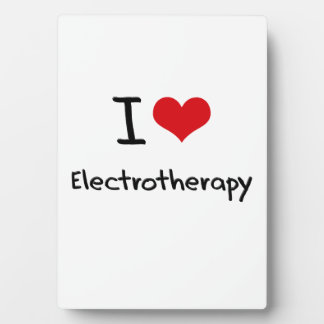 Amo electroterapia placa de madera