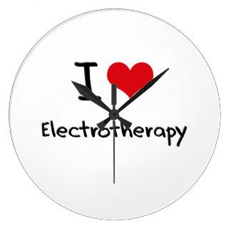 Amo electroterapia reloj de pared