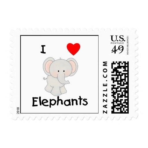 Amo elefantes (2) franqueo
