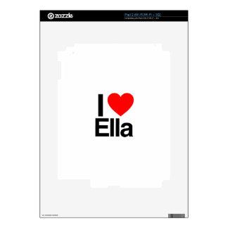 amo ella calcomanías para el iPad 2