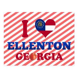 Amo Ellenton, Georgia Tarjeta Postal