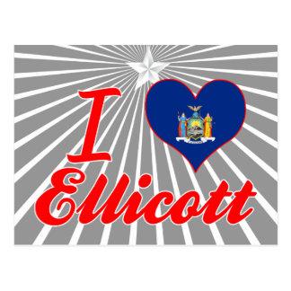 Amo Ellicott, Nueva York Postal