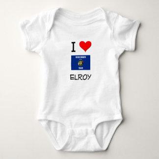 Amo Elroy Wisconsin Playera