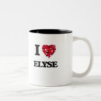 Amo Elyse Taza De Dos Tonos