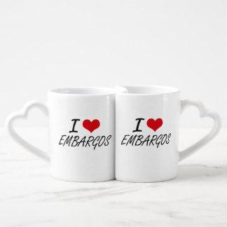 Amo EMBARGOS Tazas Para Enamorados