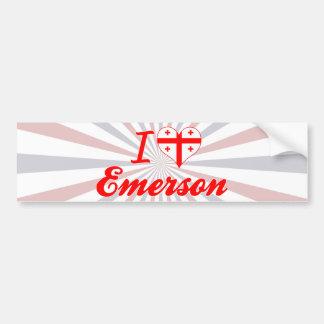 Amo Emerson, Georgia Etiqueta De Parachoque