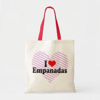 Amo Empanadas Bolsa Lienzo