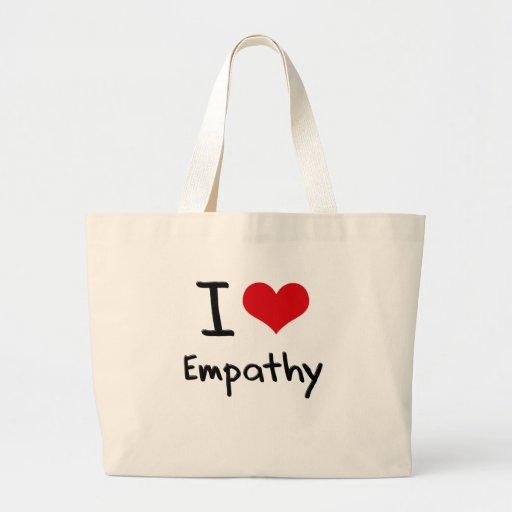 Amo empatía bolsas de mano