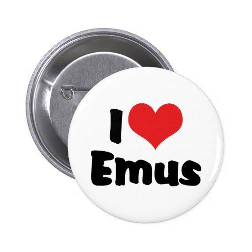 Amo Emus Pins
