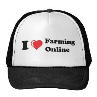 amo en línea el cultivar gorros bordados