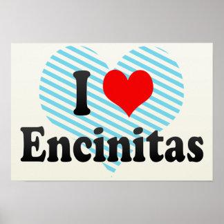 Amo Encinitas, Estados Unidos Póster
