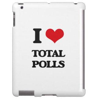 Amo encuestas totales funda para iPad