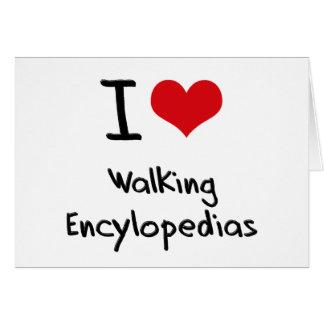 Amo Encylopedias que camina Tarjeton