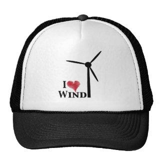 amo energía eólica gorras
