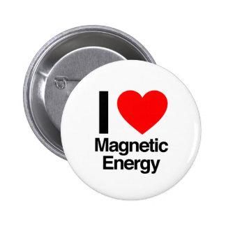 amo energía magnética pin