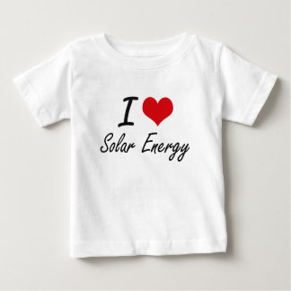 Amo energía solar playera para bebé