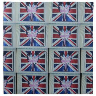 Amo England.png Servilleta Imprimida
