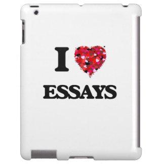 Amo ENSAYOS Funda Para iPad