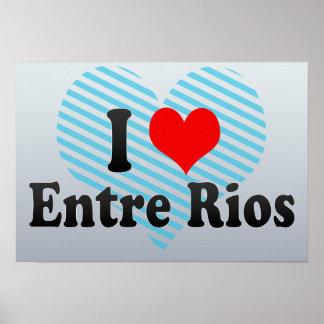 Amo Entre Rios, el Brasil Posters