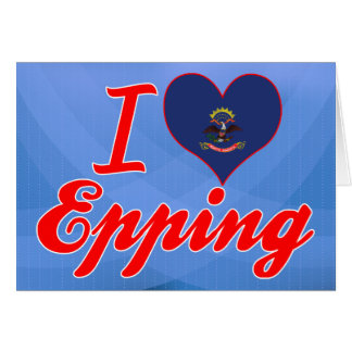 Amo Epping, Dakota del Norte Tarjeta