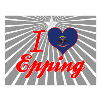 Amo Epping, Dakota del Norte Tarjetas Postales