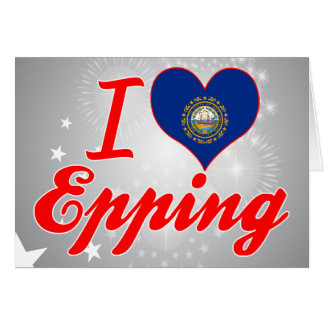 Amo Epping, New Hampshire Tarjeton