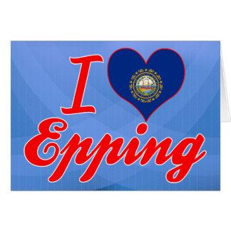 Amo Epping, New Hampshire Tarjeta