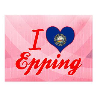 Amo Epping, New Hampshire Postales