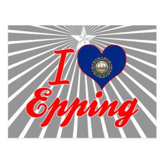 Amo Epping, New Hampshire Tarjetas Postales