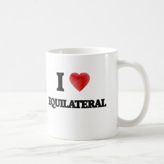 Amo EQUILATERAL Taza
