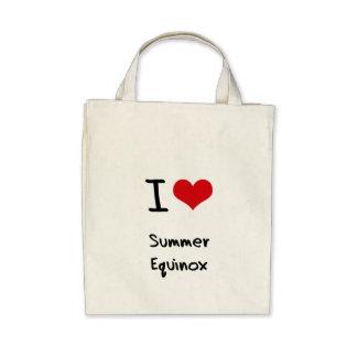 Amo equinoccio del verano bolsas de mano