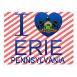 Amo Erie, PA Tarjetas Postales
