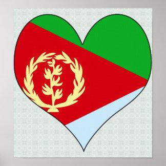 Amo Eritrea Póster