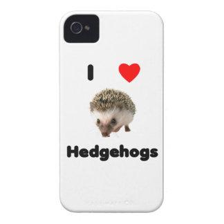 Amo erizos Case-Mate iPhone 4 carcasas