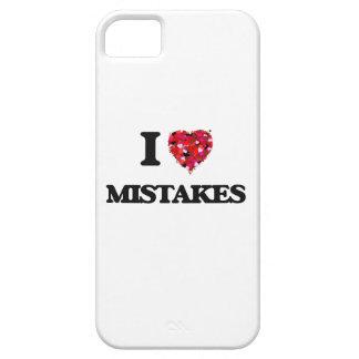 Amo errores iPhone 5 fundas