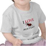 Amo escarabajos camiseta