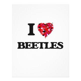 """Amo escarabajos folleto 8.5"""" x 11"""""""