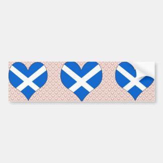 Amo Escocia Etiqueta De Parachoque