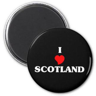 Amo Escocia Imán De Frigorifico