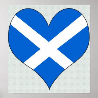 Amo Escocia Poster