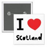 Amo Escocia Pins