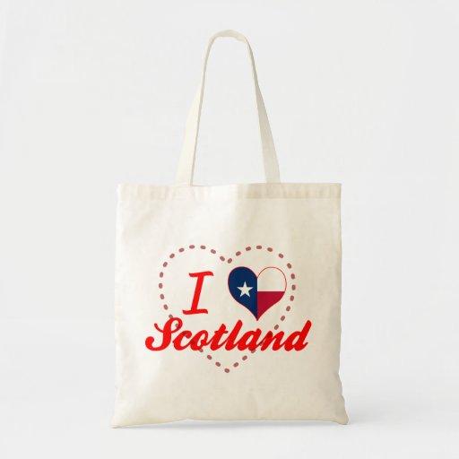 Amo Escocia, Tejas Bolsas De Mano