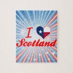 Amo Escocia, Tejas Rompecabezas