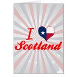Amo Escocia, Tejas Tarjeton