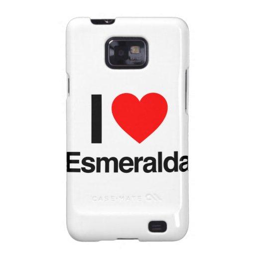 amo esmeralda samsung galaxy s2 carcasas