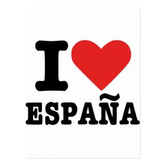 Amo España - España Tarjeta Postal